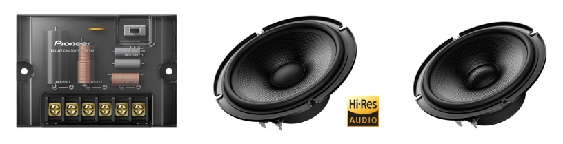 Pioneer introduces Premium Z Series In Car Audio Speakers in