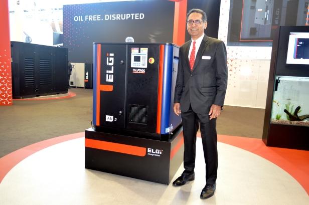 Dr Jairam Varadaraj, Managing Director, Elgi Equipment