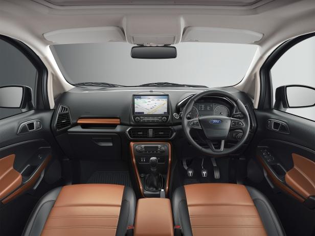 EcoSport Thunder Edition - Cognac Interiors