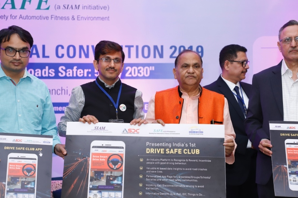 Launch of Driver safe app by Mr. CP singh